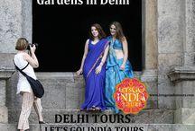 Gardens in Delhi / Read our blog on Gardens in Delhi  http://letsgoindiatours.blogspot.in/2016/04/gardens-in-delhi.html