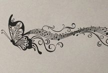 Music & Tattoos / by Linda Hollingsworth