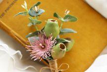 Wedding Flowers - original idea pinks/greens