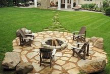 Fire pit areas