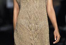 Свитер платья