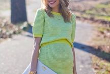 Maternity glam