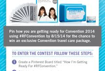 How I am getting ready for CONVENTION! / Rodan and Fields  / by Ashley Page