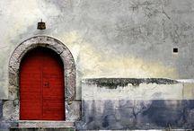 Doors, Gateways, Portals, Arches, Porticos / by Sandy Bobet