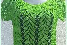 női horgolt ruhák