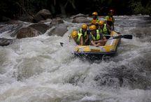 White Water Rafting at Kampar River