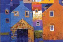schilderen stad