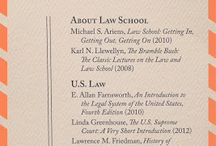 Law School - Summer reading lists