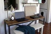 Clever Small Office Space / by Gina Rau