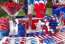 Patriotic Holiday Ideas / Show your love for the red, white and blue. Perfect entertaining ideas for 4th of July, Memorial Day, Flag Day or any patriotic celebration. Website: http://www.usafreedomkids.com/home2.html