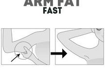 exercise to  burn  fat in the arms