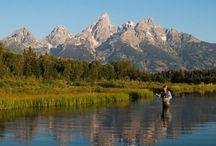 Jackson Hole Fly Fishing / Fly fishing in Jackson Hole & Grand Teton National Park, Wyoming.