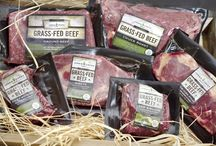 Our Delicious Grass Fed Beef / Only the best grass fed beef in the country.