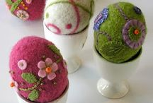 Felting easteregg