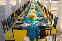 Wedding Table set up / by Tricia Spitler