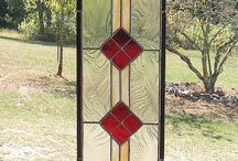 {at home} - stained glass ideas