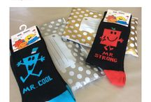 Mr men socks.  Say it with socks.  Soks4u.com novelty and character gift socks,  a fun and funky gift deliver to you. / Soks4u  - Men character socks.