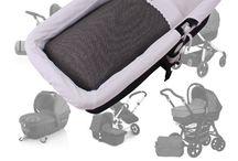 Saco Capazo / En la primera etapa del bebe el capazo para silla es indispensable ya que el bebe tiene que descansar sobre una superficie lo mas plana posible. Nuestro saco capazo le aportará  confort y estilo.