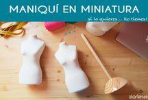 Diseño de modas en miniatura