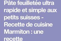 Pâte pour recettes salées et sucrées