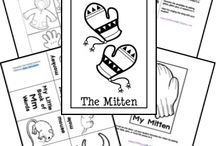 Books: The Mitten / by Christy Rooney (MileAMinuteMama.com)