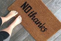 Rude Doormats / All the clever and rude doormats that you could want!
