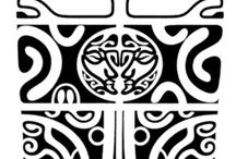 Inkspiration / Collection of Polynesian tattoos, pieces of which can be used as parts or inspirations for parts of larger Polynesian pieces.