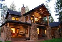 rustik orman evleri