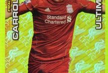 Liverpool Adrenalyn XL 2011/2012 / Collection based on the Liverpool team of 2011 to 2012.