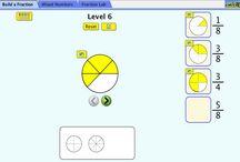 Ecole - numération - fractions