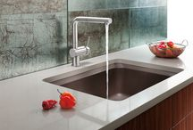 Blanco / Blanco has manufactured high-quality sinks, faucets and accessories for residential and commercial purposes. With a wide ranging, decorative offering, including stainless steel sinks, Silgranit® Sinks, kitchen faucets, bar sinks and faucets, and custom sink accessories.