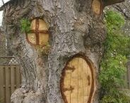 amenajari din trunchi de pom