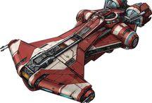 Starships & Vehicles