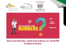 Sharjah Health Authority and UHS - Health care checkups