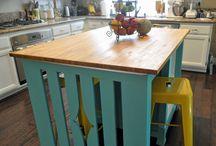 Ideas for kithchen island table