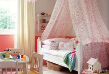 Girls bedrooms / by Chelsea Hart