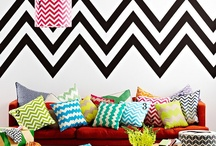 Chevron & Other Cool Patterns / Lover of bold, graphic patterns!