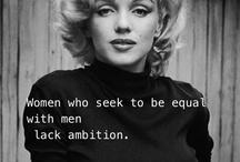 I am woman, hear me roar