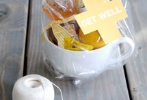 Get Well {Tidings} / Meal, snack and gift ideas for friends and family experiencing illness or recovering from surgery