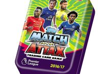 Match Attax 2016 - 2017 / For the new Premier League 2016 - 2017 the biggest football trading card collection back. The official release date is September 29th 2016.