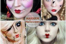 макияж Хеллоуин