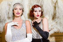 1920's Flapper Party Dresses / Great Gatsby inspired party wear