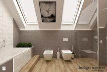 łazienki na poddaszu