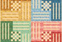 Quilting - partial seam blocks