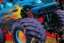 Monster Truck Party Ideas and Decorations / Have a roaring good time with these Monster Truck Party Ideas and Decorations. We have rolled through many boards to find the coolest Monster Truck Party ideas out there, and added in our own Monster Truck Party Supplies and favorite products.