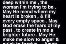 God / My strength