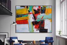 Moderne Malereien