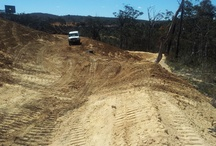 Erosion Control Clarence Colliery / The aim of this project was to provide silt and erosion control through the installation of soft engineering material such as coir rolls, jute mesh and jute mesh.