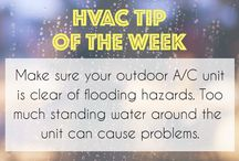 HVAC Tips of the Week / Just some quick tips to keep your home comfortable & your HVAC system running smoothly.