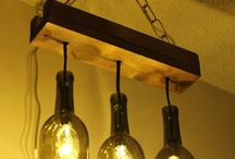 Лампы для бутылки вина